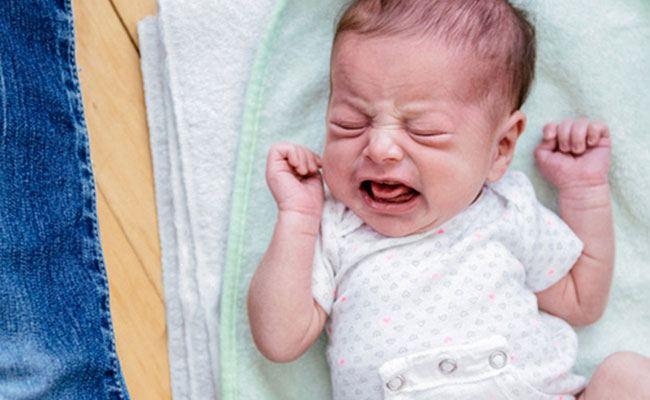 الغازات عند الرضع