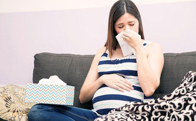 نزلات البرد أثناء الحمل