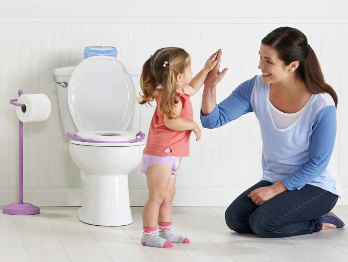 تدريب طفلك على استخدام البوتي