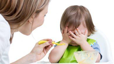 طفلي يرفض الطعام