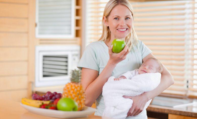 التغذية الصحية في فترة الرضاعة الطبيعية