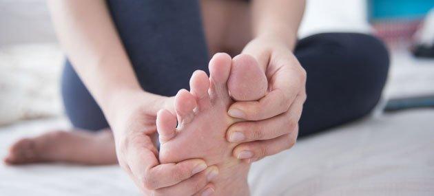 تورم القدمين في الحمل