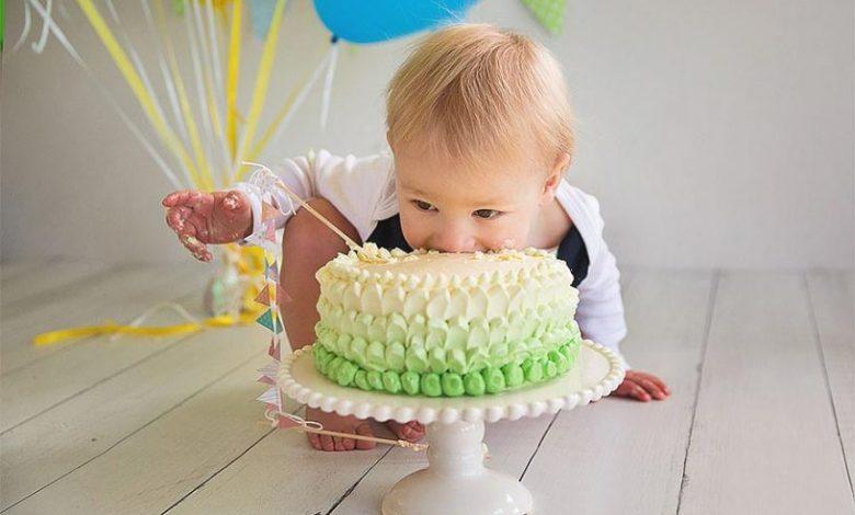أول عيد ميلاد لطفلك