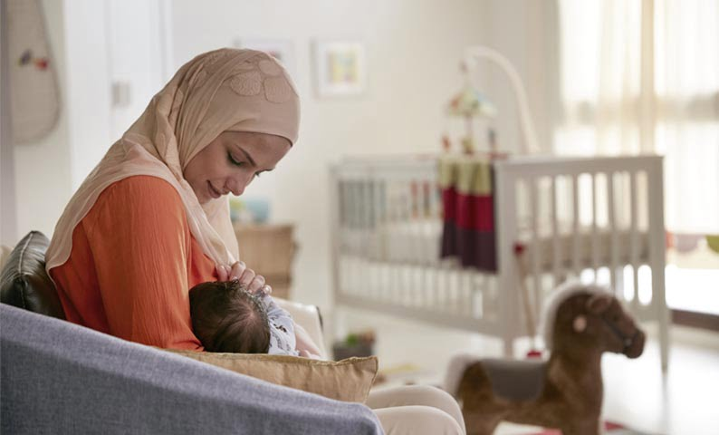 أعراض الحمل أثناء الرضاعة النظيفة