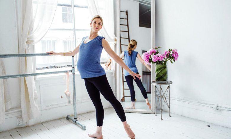 الرقص للحامل