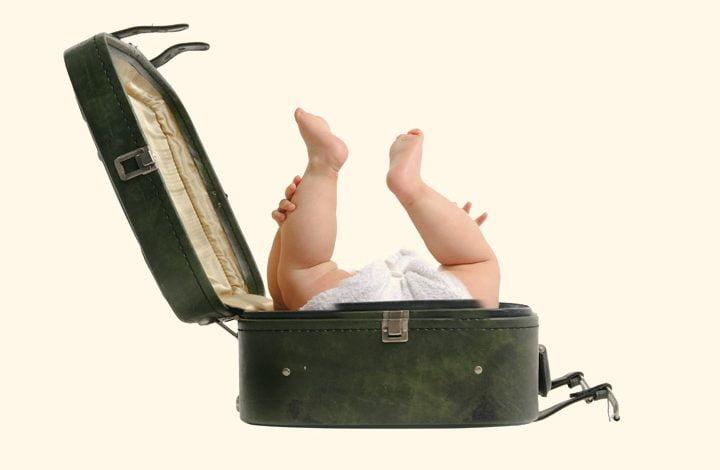 السفر مع طفل حديث الولادة