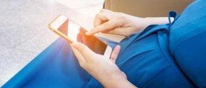 تأثير الهاتف المحمول على الحامل