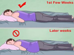 وضعيات النوم الأكثر راحة للحامل