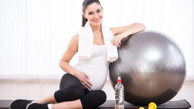 تمارين رياضية في الثلث الثاني من الحمل