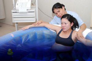 الولادة تحت الماء