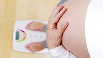 زيادة الوزن الطبيعية في الحمل