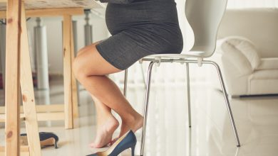 الكعب العالي في الحمل