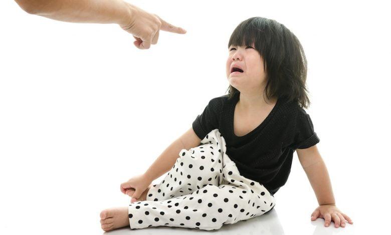 عقاب الطفل في عمر السنتين