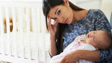 مشكلة النسيان بعد الولادة