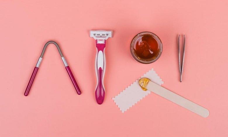 طرق إزالة الشعر في الحمل
