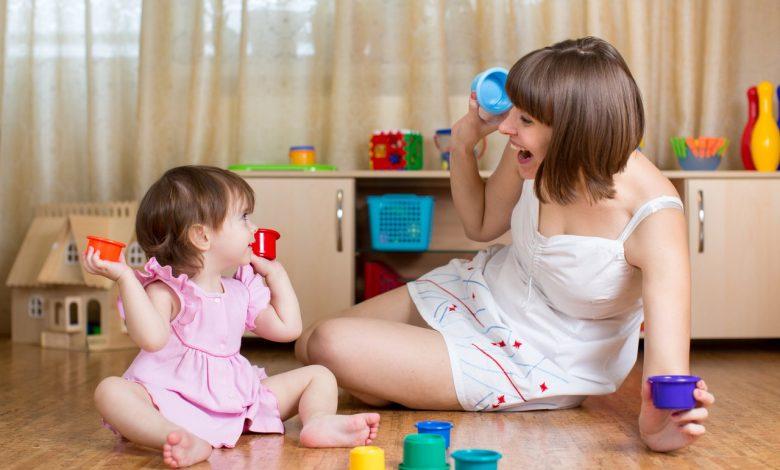 أنشطة منهج منتسوري من عمر 6 أشهر لسنة