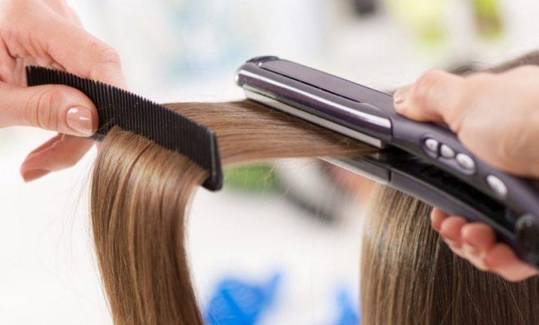 أضرار فرد الشعر بالبروتين على الحامل