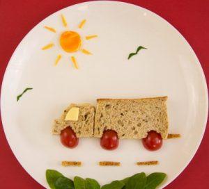 تزيين الطعام للأطفال