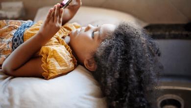 علاج الشعر الجاف للأطفال