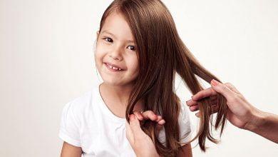 تطويل شعر الأطفال والرضع