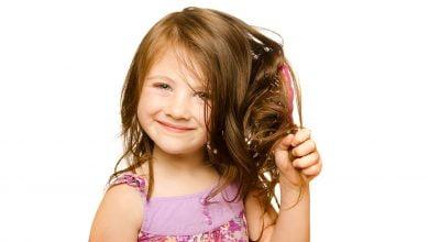 تكثيف شعر الأطفال والرضع