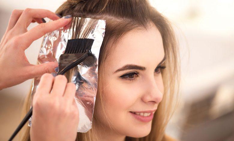 التعامل مع الشعر المصبوغ