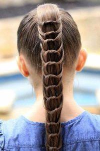 تسريحات شعر للمدرسة