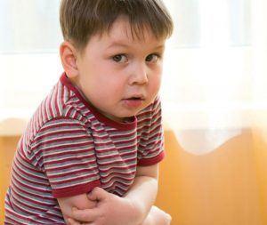 عفونة المعدة عند الطفل