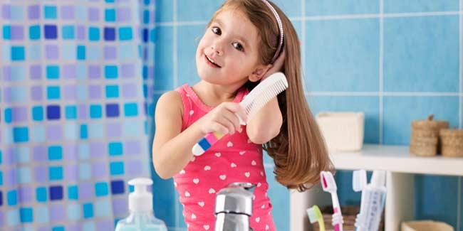 أفضل زيوت شعر للأطفال