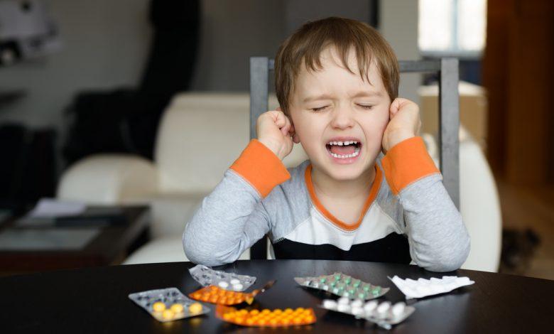 علاج إلتهاب الأذن عند الأطفال