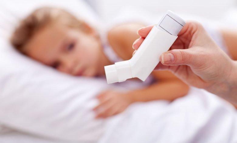 علاج الربو عند الأطفال
