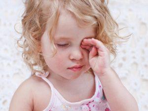 التهاب العينين عند الأطفال