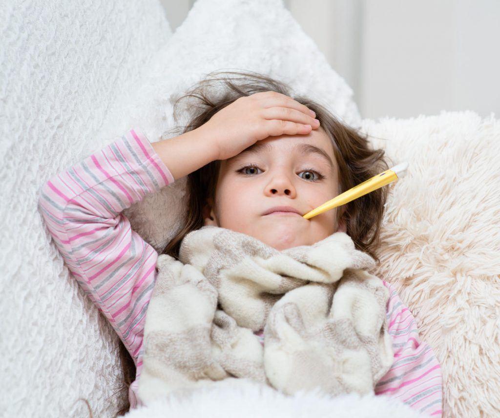 التهاب الكبد الوبائي ب عند الأطفال