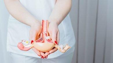 حجم الرحم بعد الولادة
