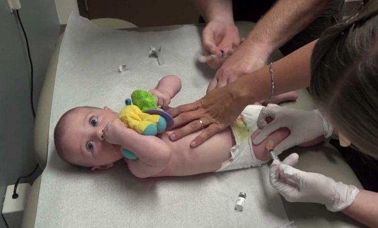 تطعيم التهاب الكبد الوبائي ب للأطفال
