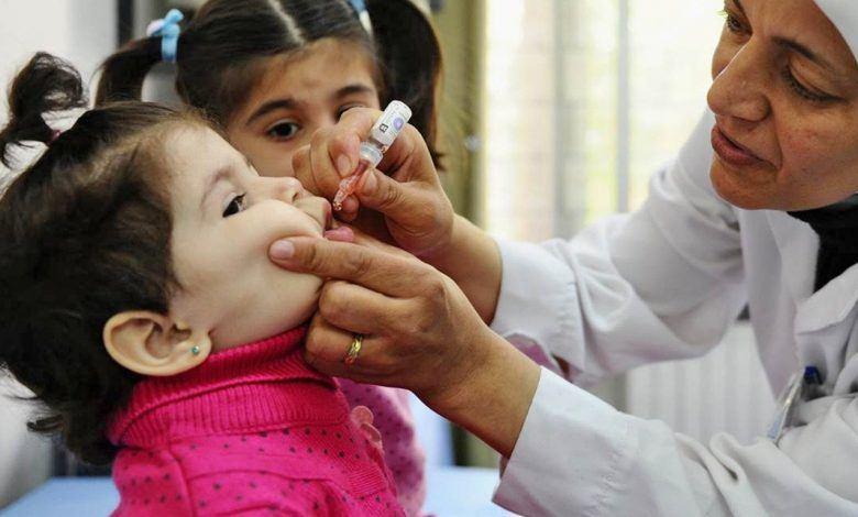 تطعيم شلل الأطفال