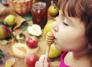 العسل للأطفال